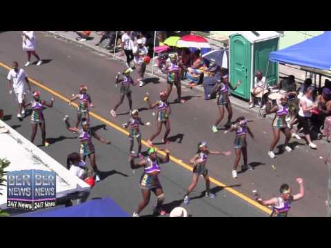 St  George's Original Dancerettes In The Bermuda Day Parade, May 26 2014