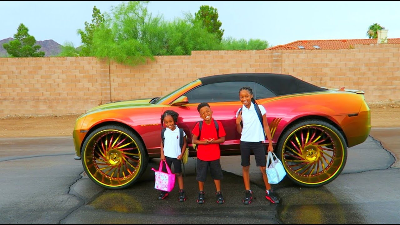 THE FIRST DAY OF SCHOOL YouTube - Cool first cars