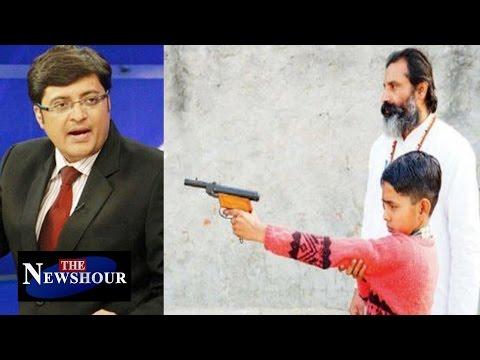 Hindu Swabhiman Train Kids To Fight and Shoot : The Newshour Debate (20th Jan 2016)