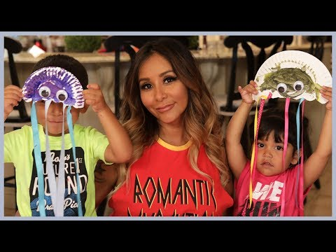 Snooki's Jellyfish DIY with Sissy & Lorenzo!