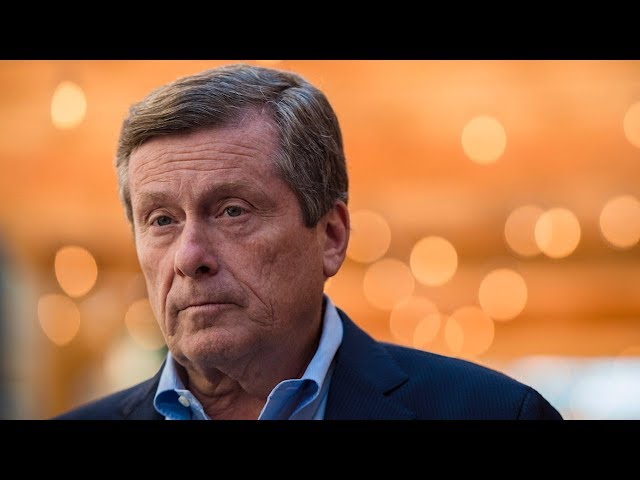 "After a string of shootings in Toronto, Mayor John Tory says efforts are being made to get ""gangsters"" off the street. Tory says the city is still ""generally safe."" (The Canadian Press)"