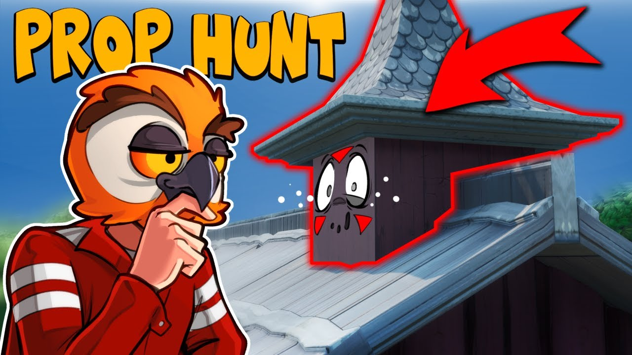 NEUES PROP HUNT-SPIEL! - WO BIN ICH VANOSS ??? (Delirious 'Perspektive) + video