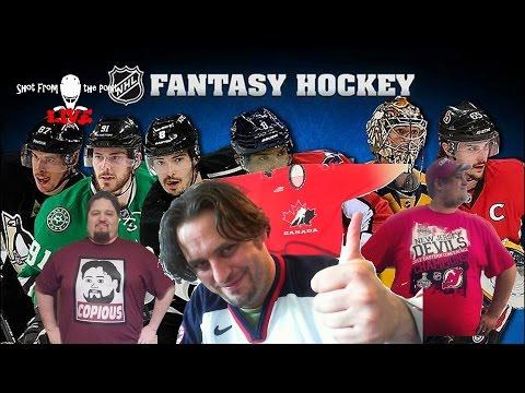 Live Yahoo NHL Fantasy Draft SUNDAY EP113