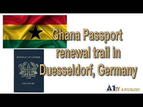 A1 TV2 - Ghana Passport renewal trail in Duesseldorf, Germany