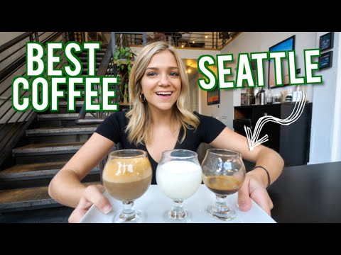 Trying EVERY Coffee Shop In SEATTLE