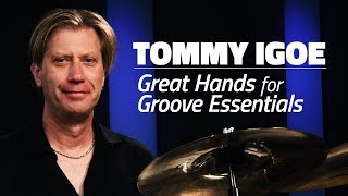 Tommy Igoe: Great Hands For Groove Essentials (FULL DRUM LESSON)