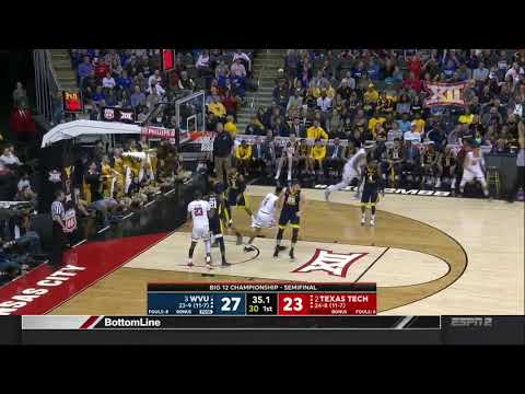 West Virginia vs Texas Tech Men's Basketball Highlights