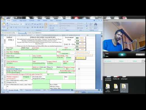 1131 (Income tax) How to generate XML  file from excel return utility