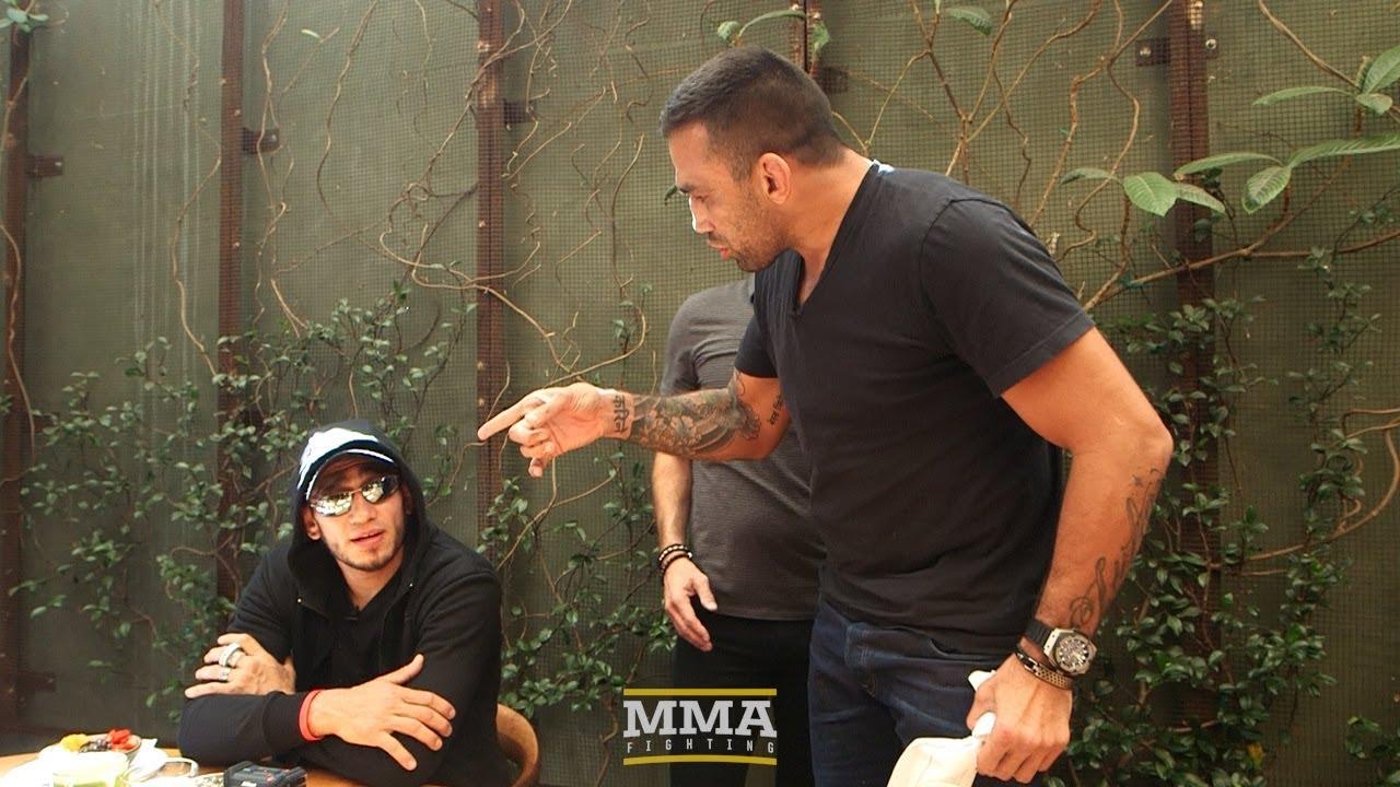 Tony Ferguson, Fabricio Werdum Have to Be Separated at UFC 216 Media ...