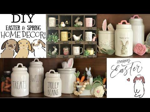 EASY DIY EASTER & SPRING HOME DECOR | Beeisforbeeauty