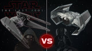 Tie Advanced vs Tie Silencer (Kylo Ren's 'The Last Jedi' Starfighter ) | Star Wars: Who Would Win