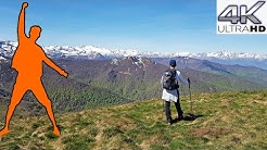 RANDO Pic d'Estibat (1.663M), une Balade Facile, Col de Port, Saurat, Massat - ARIEGE PYRENEES 4K