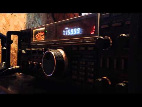 Beverage antenna listening W-VK QSO on 40m