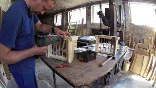 Heuraufe/Futterraufe für Kaninchen selber bauen