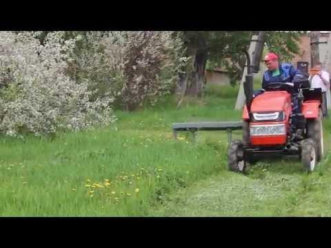 Роторная косилка для минитракторов