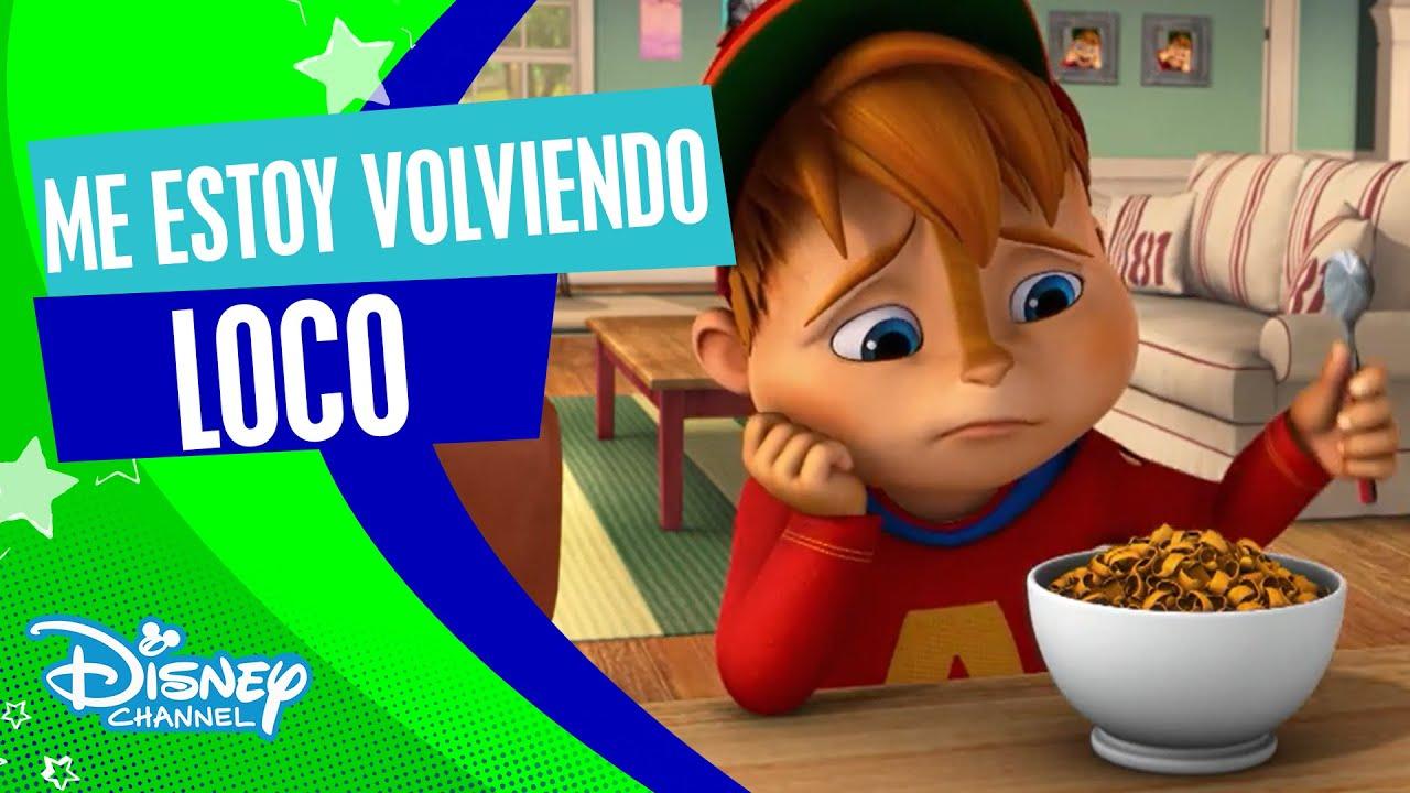 ¡¡¡Alvinnn!!! Y Las Ardillas: Videoclip - Me estoy volviendo loco | Disney Channel Oficial