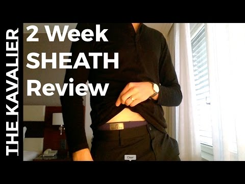 Two Weeks Wearing Only Sheath Underwear Review  efefce15c2