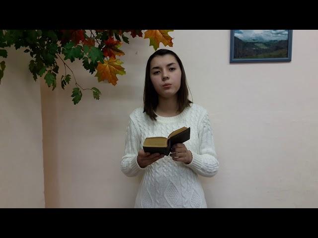 Изображение предпросмотра прочтения – УльянаБусова читает произведение «Мне нравится, что Вы больны не мной...» М.И.Цветаевой