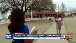 Langston University's impact on Oklahoma