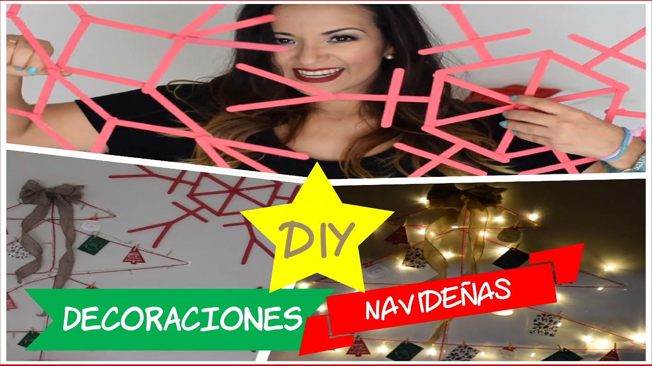 Diy decoraciones navide as faciles lindas y economicas for Decoraciones faciles y economicas