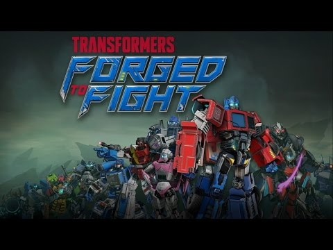 Transformers: forged to fight. intro and game play.