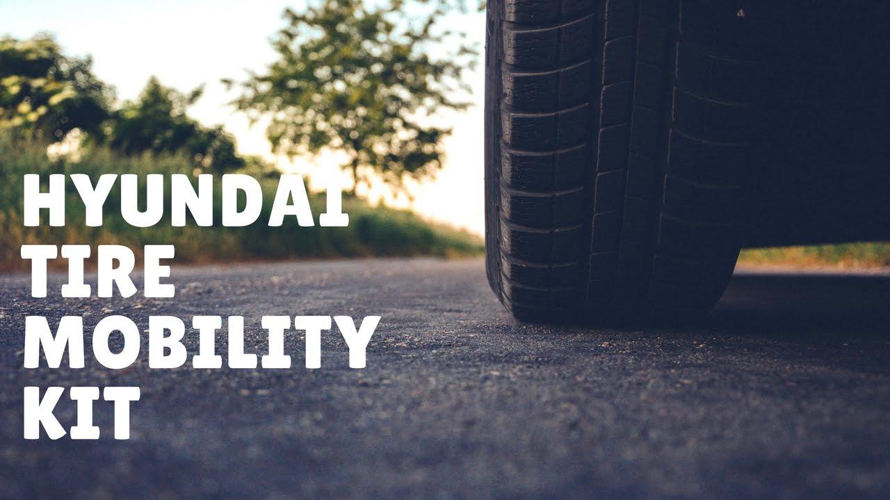 Hyundai Elantra: Using the Tire Mobility Kit
