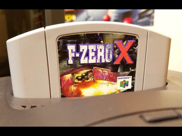 Classic Game Room - F-ZERO X review for Nintendo 64