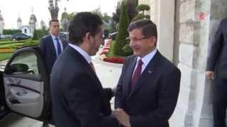 فيديو| داود أوغلو يلتقي رئيس حكومة طرابلس الليبية