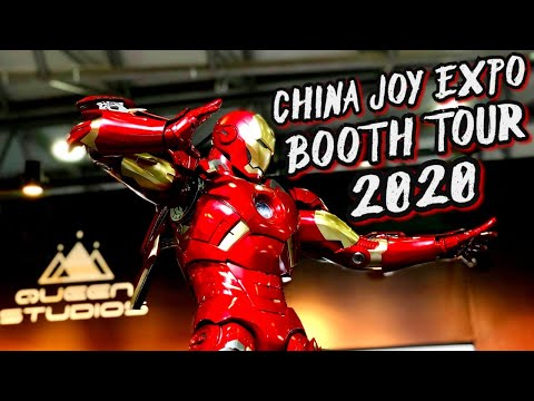 Epic QUEEN STUDIOS Full Booth Tour   China Joy Expo 2020 In Shanghai China!