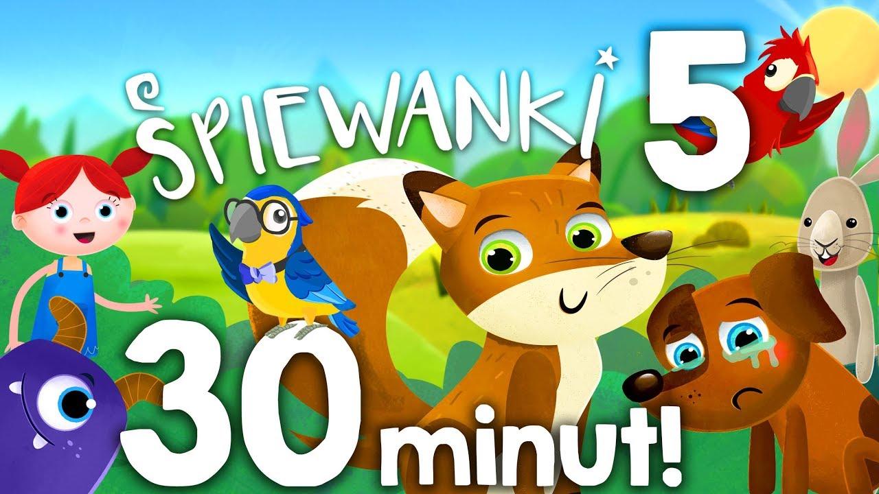 Zestaw piosenek dla dzieci nr 5 - 30 min: Lisek, Malutki, Las – @Śpiewanki.tv - Piosenki dla dzieci