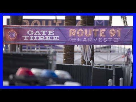 Route 91 vendors can't retrieve goods at las vegas shooting scene