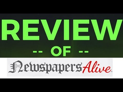 Newspapers ALIVE - Newspaper Source Traffic System REVIEW
