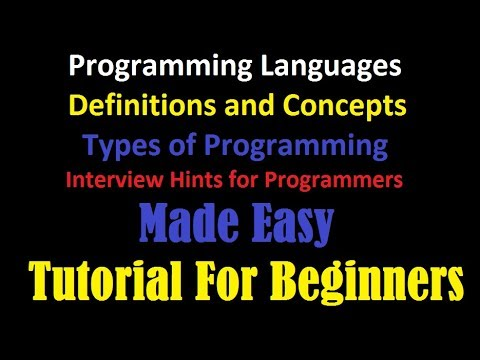 Computer Programming and Types | Compiler and Interpreter | Programming Interview Solutions
