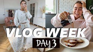 TIPSY FURNITURE BUILDING, HOMEMADE BRUNCH CLEAN WITH US! Vlog week Day 3   Julia & Hunter