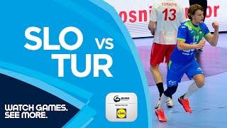 HIGHLIGHTS | Slovenia vs Turkey | Round 6 | Men's EHF EURO 2022 Qualifiers