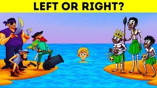 Don't Choose The Wrong Way! 12 Riddles You Have To Solve To Stay Alive