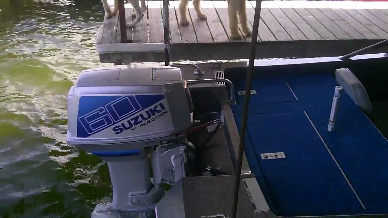 60hp suzuki outboard [ 1280 x 720 Pixel ]