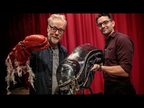 Adam Savage Tours North Bergen High School's Alien: The Play Artifacts!