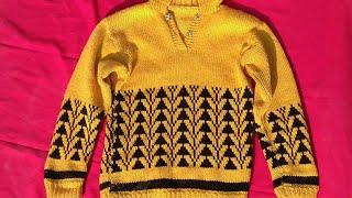 Baby sweater new design