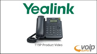 Yealink T19P Product Video   VoIP Supply