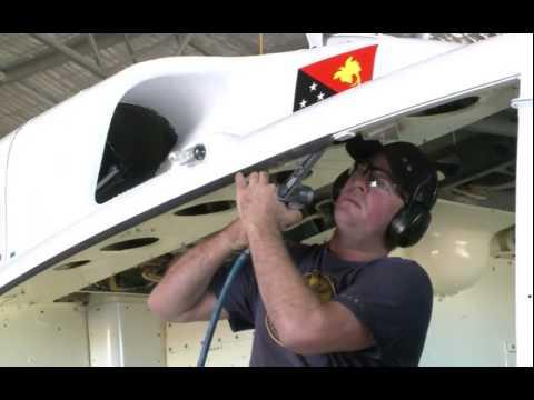 Airborne Avionics Bell 212 Helicopter Restoration