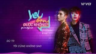 Yêu Bạn Được Không (Friendzone) - Juun Đăng Dũng ft RTee | Audio Lyric | Sing My Song 2018 thumbnail