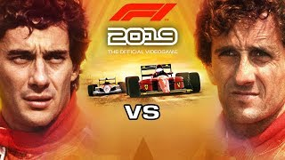 F1 2019 Legends - Senna vs Prost - All Invitational Events on Hard Difficulty [4K 60FPS]