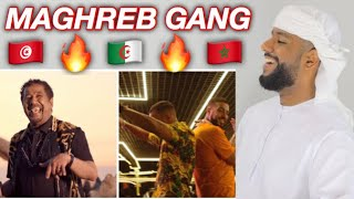 ARAB REACTION TO MAGHREB GANG BY FARID BANG x FRENCH MONTANA x KHALED **LEGENDARY**
