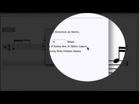 Drum Set Notation with Finale - Video Tutorial Part 2