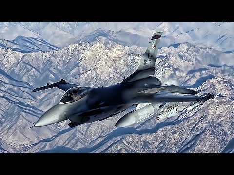 Over The Mountains Of Afghanistan • F-16 Fighting Falcons