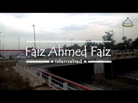 Faiz Ahmed Faiz & Seventh Avenue Islamabad