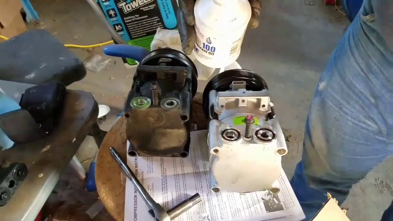 Installing An Ac Compressor On A 2005 Ford Escape Xlt 3 0 Liter