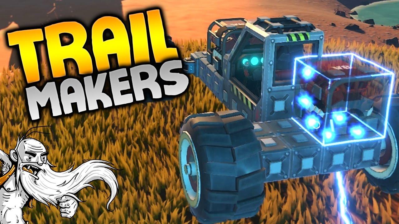 Trailmakers Alpha Gameplay -