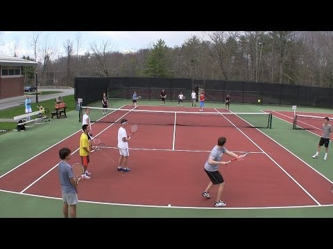 Tennis Drill - Large Groups - Kill it